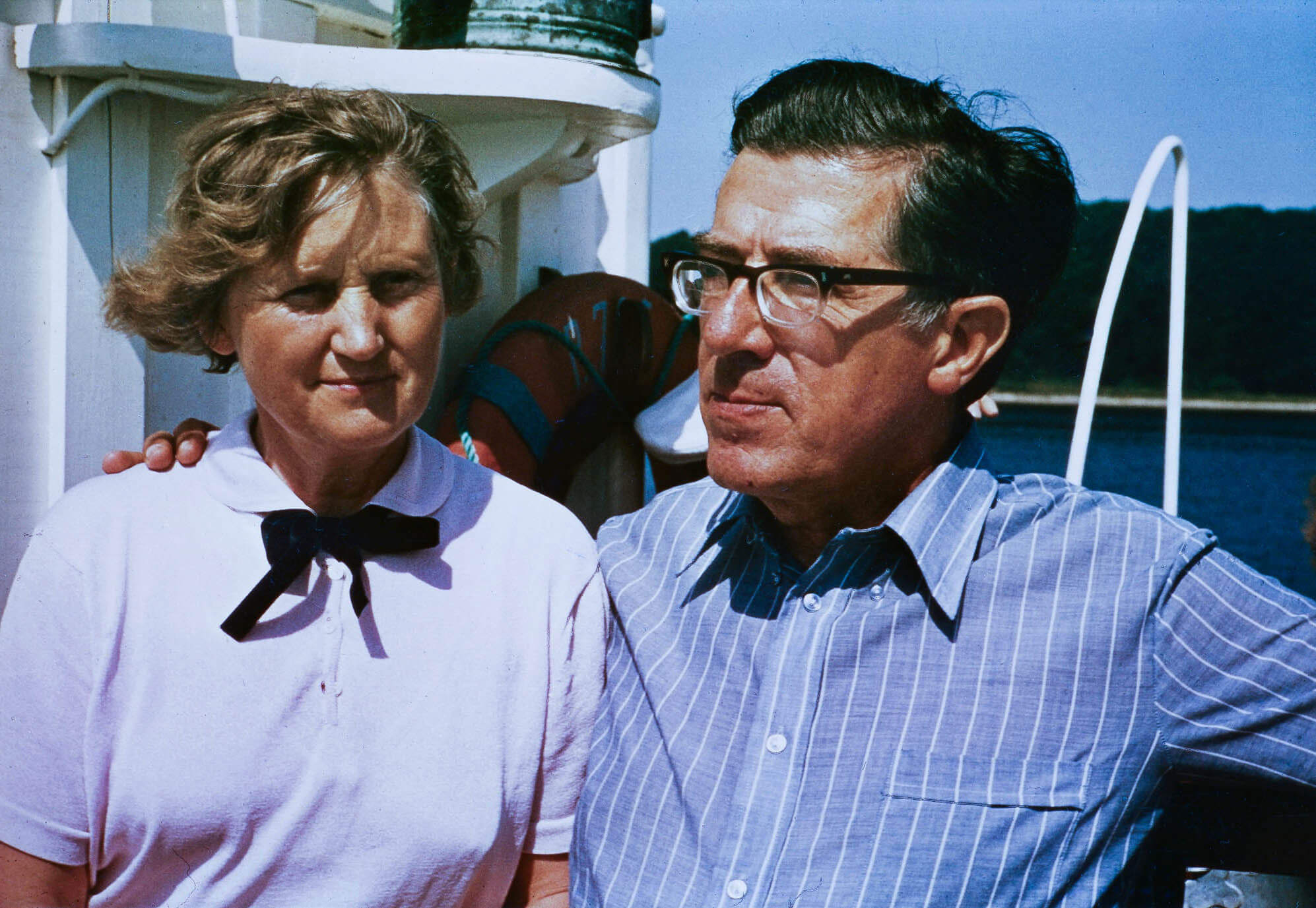 Eva and Frederik Paulsen, Senior